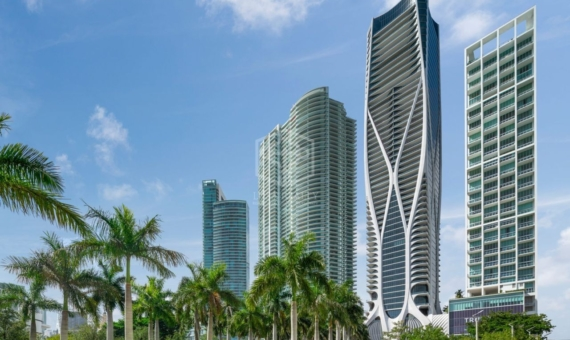 Extraordinary residences in a prestigious new tower by architect Zaha Hadid in Miami | 1