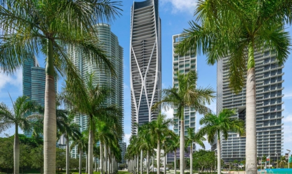 - Extraordinary residences in a prestigious new tower by architect Zaha Hadid in Miami