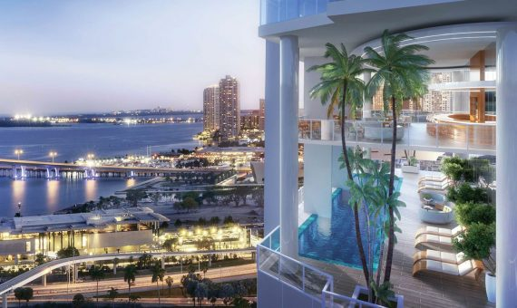 - Exclusive Development with gorgeous ocean views in the heart of Miami