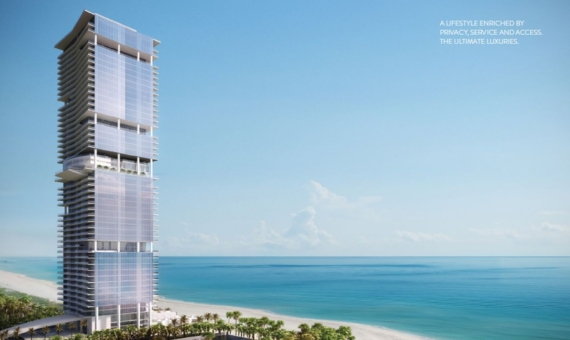 Luxurious Turnberry Ocean Club residences in Sunny Isles Beach with stunning views of the Atlantic Bay | 1