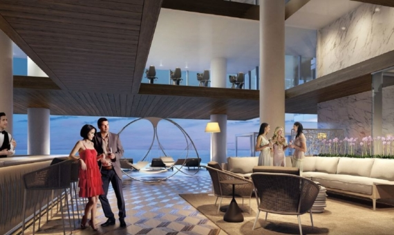 Luxurious Turnberry Ocean Club residences in Sunny Isles Beach with stunning views of the Atlantic Bay | 4