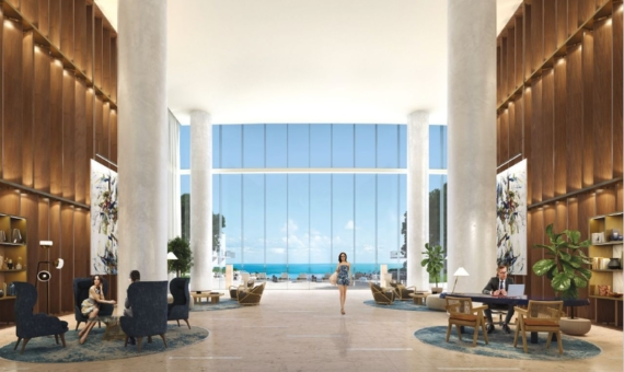 Luxurious Turnberry Ocean Club residences in Sunny Isles Beach with stunning views of the Atlantic Bay | 3