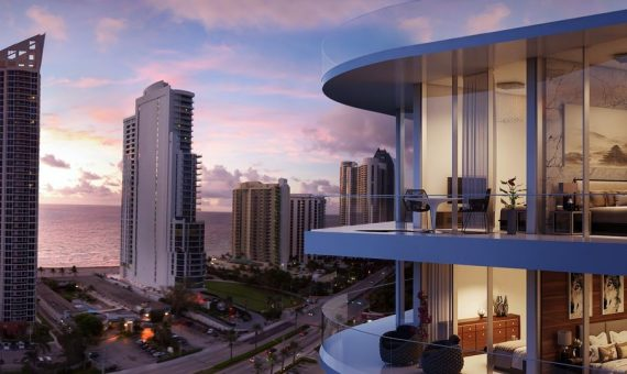 - Innovative residential project in the heart of Sunny Isles Beach in Miami, Florida