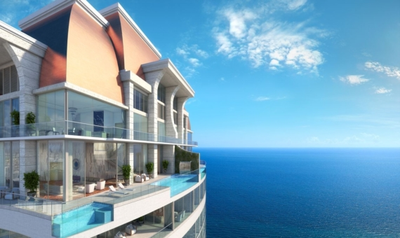 - Outstanding residential complex by Acqualina Resort on the oceantfront in Sunny Isles Beach, Miami