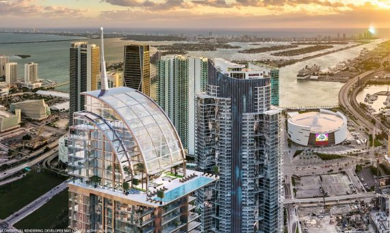 Exceptional apartments in the first-class residential and hotel complex in Miami | 2