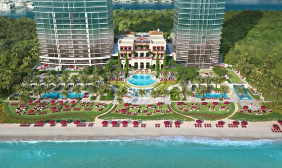 Outstanding residential complex by Acqualina Resort on the oceantfront in Sunny Isles Beach, Miami | 3